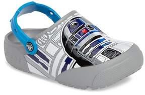 Crocs Fun Lab Star Wars(TM) R2-D2 Light-Up Clog (Baby, Walker, Toddler & Little Kid)