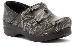 Dansko Proessional Print Leather Clog