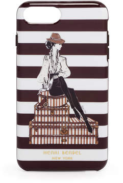 Henri Bendel Megan Hess Hatbox Girl Graphic Case For Iphone 7 / 8 Plus