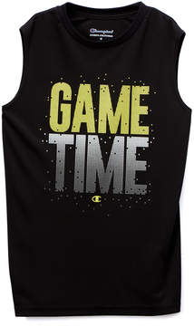 Champion Black 'Game Time' Muscle Tee - Toddler & Boys