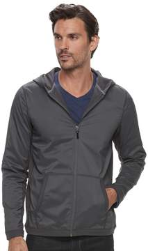 Marc Anthony Men's Slim-Fit Mixed Media Hoodie