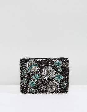 New Look Stars and Moon Zip Top Coin Purse