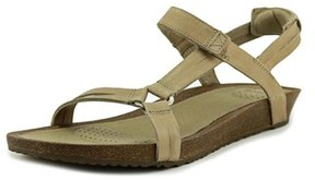 Teva Ysidro Open Toe Leather Wedge Heel.