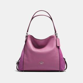 COACH Coach Edie Shoulder Bag 31 - SILVER/PRIMROSE - STYLE