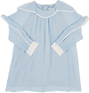 Chloé SILK CHIFFON SHIFT DRESS