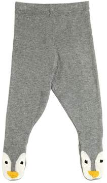 Stella McCartney Penguin Cotton & Wool Knit Leggings