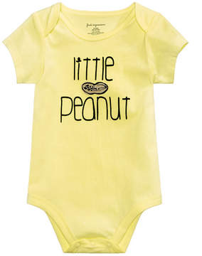 First Impressions Baby Boys & Girls Little Peanut Cotton Bodysuit, Created for Macy's