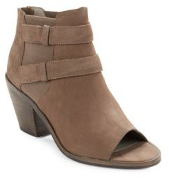 Eileen Fisher List Tumbled Nubuck Ankle Boots