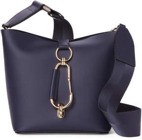 Zac Posen Navy Small Belay Hobo Bag