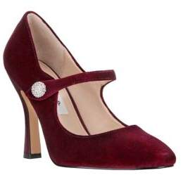 Nina Velvet Mary Jane Pumps