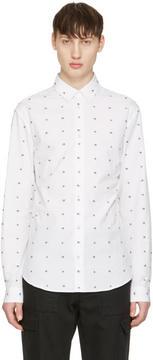 McQ White Googe Swallows Shirt