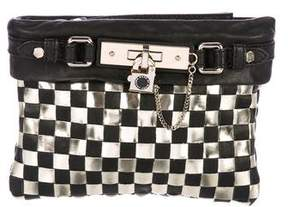 Marc by Marc Jacobs Woven Leather Clutch