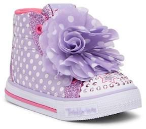 Skechers Shuffles Flower Fun Sneaker (Toddler & Little Kid)