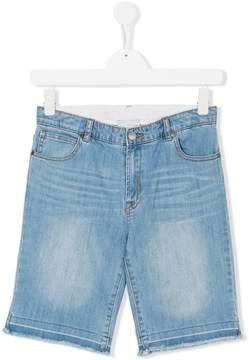 Stella McCartney TEEN Moses denim shorts