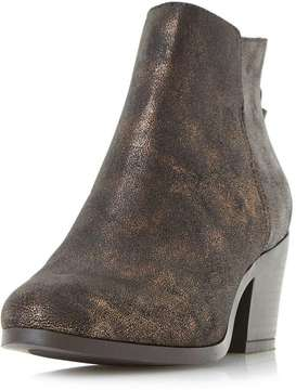 Head Over Heels *Head Over Heels by Dune Bronze 'Pretty' Ankle Boots