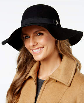 Nine West Bow & Grommet Floppy Hat