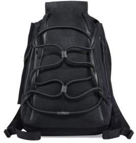 Y-3 Leather Blend Medium Backpack