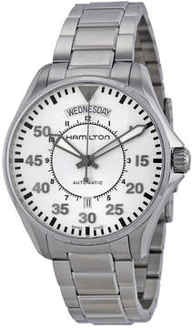 Hamilton Khaki Pilot Automatic Silver Dial Men's Watch