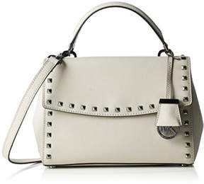 Michael Kors Cement Small Ava Stud Top Handle Satchel - ONE COLOR - STYLE