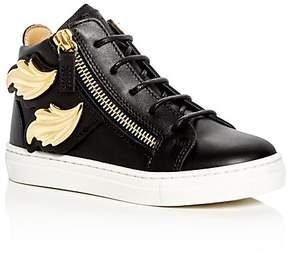 Giuseppe Zanotti Girls' Birel Embellished High Top Sneakers - Toddler, Little Kid