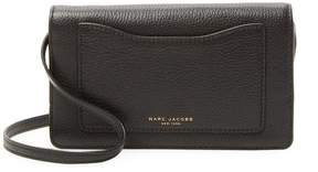 Marc Jacobs Women's Leather Recruit Wallet Crossbody Bag