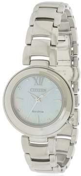 Citizen Eco-Drive Sunrise Stainless Steel Ladies Watch EM0330-55D