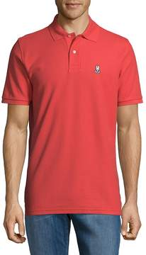 Psycho Bunny Men's Bunny Classic Cotton Polo