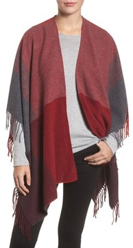 Eileen Fisher Women's Colorblock Wool Wrap