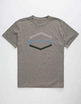 RVCA Tri Dot Hex Mens T-Shirt