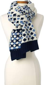 Lands' End Lands'end Women's Fair Isle Scarf