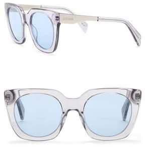 Just Cavalli Retro 51mm Plastic & Metal Sunglasses