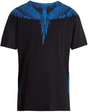 Marcelo Burlon County of Milan Double Wing-print cotton T-shirt