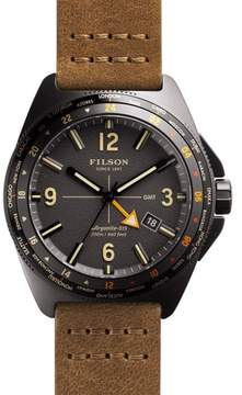 Filson F0110000340 Gunmetal Stainless Steel Grey Dial 44mm Mens Watch
