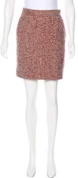 Cacharel Mini Tweed Skirt