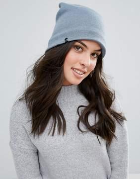 Plush Fleece Lined Barca Hat in Steel Blue