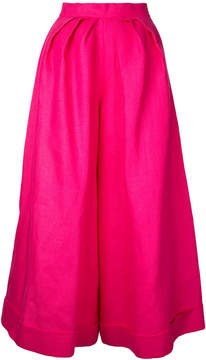 DELPOZO pleated detail palazzo trousers