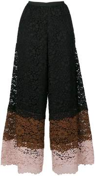 Antonio Marras lace cropped trousers