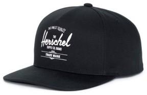 Herschel Men's Whaler Snapback Baseball Cap - Black