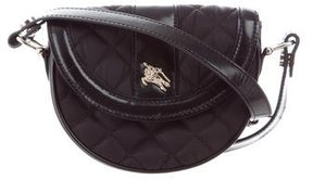 Burberry Quilted Crossbody Bag - BLACK - STYLE