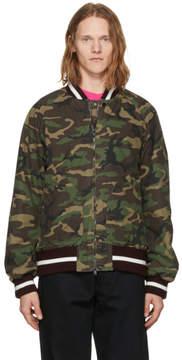 Nonnative Multicolor Student Bomber Jacket