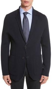 Canali Men's Reversible Knit Wool Blazer