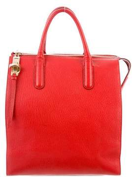 Max Mara Grained Leather Tote