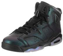 Jordan Nike Kids Air 6 Retro As Bg Basketball Shoe.