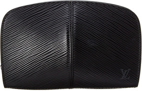 Louis Vuitton Black Epi Leather Portefeuille Cosmetic Pouch