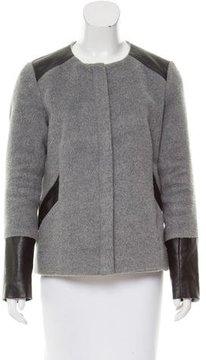Ella Moss Textured Long Sleeve Jacket
