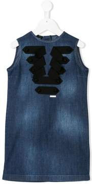 DSQUARED2 strap detail denim dress