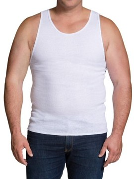 Fruit of the Loom Big Men's White A-Shirts, 5 Pack