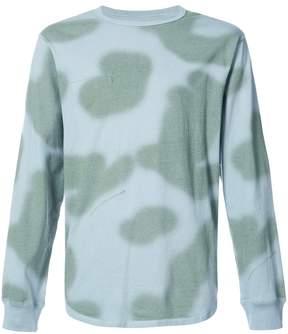 MHI blotch print long sleeve T-shirt