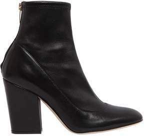 Sergio Rossi 90mm Stretch Nappa Leather Boots