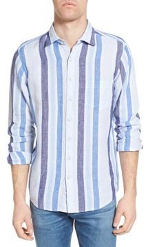 Rodd & Gunn Men's Glenavy Stripe Linen Sport Shirt